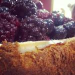Cheesecake made by Brigid