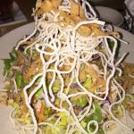 Asian Chicken Salad...very tasty.