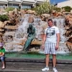 Центральный парк возле поющего фонтана