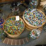 Over one million antique marbles on display!