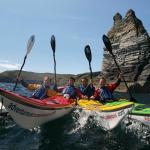 Sea Kayaking - stunning views and wildlife