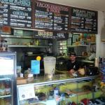 Nate, the owner/proprietor of Tatanka Takeout