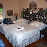 Irish room with twin beds