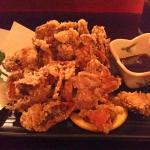 Deep-fried soft-shell Crab