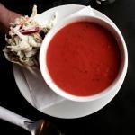 Tomato Basil Soup w/ Coleslaw