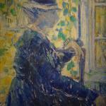 Jehan Frison: La dame en bleu