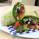 Vegan Avocado Wrap