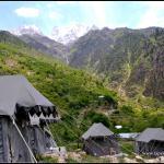 A Stay just below Kinnuar Kailash Range