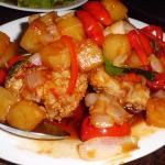 Fried Cod Fish in Sweat & Sour Sauce