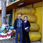 Zdravko & me at the Entrance