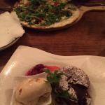 Flammkuchen and amazing dessert