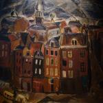 Gustave de Smet: Vue d'Amsterdam
