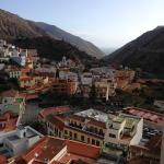 View from the room over Vallehermoso village.