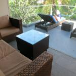 2nd storey with balcony to sun tan