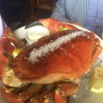 Our stunning whole fresh crab. #foodporn