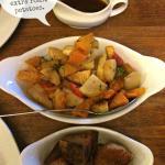 Veggies and roasties