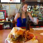 Great food, cold beer and great girl working the place