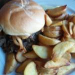 braised beef sandwich