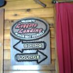 One of the signs as you enter the restaurant.