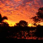 Sunset taken from our deck