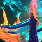That's a mermaid tail.  (Yeah, that's not what we thought it looked like either.)