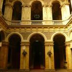 Villa Erba à Cernobbio : Magnifique hall.