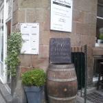 façade du resto boutique