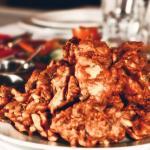 Pakora,Scrumptuous pakoras with tasty sauces