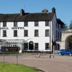 Front of Argyll Hotel