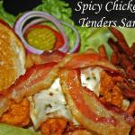 Spicy Chicken Tenders Sandwich