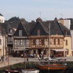 Le Port d'Auray situé à 5mn à pied de l'hôtel