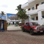 Frente del hotel Ninfa