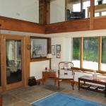 Stowfield Barn Galleried Reception area