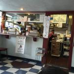 True diner and old school feel!