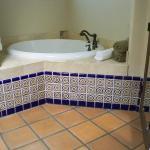 Jacuzzi tub in suite