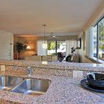 Kitchen with Gulf view