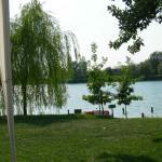 Il lago dove é consentita la balneazione