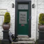 Entrance to the lovely House O'Hill Hotel