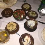 Kofta was delicious, as were the dips and bread to start.