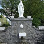Mary fountain