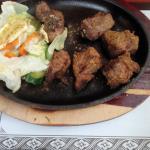 Chicken tandoor and salad