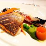 gebakken vis met krokant vel en scheermes (136034888)