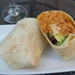 Santa Fe Burrito, Baby Salsa  |  University Mall, Nanaimo, British Columbia, Canada
