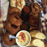 Sampler platter! Only $15!?!? It's like a meal for 2 ppl!!