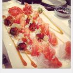 *Ayame Special Platter  (For 2p)Nigiri, Sashimi, Cooked Prawn Sushi & Special Roll
