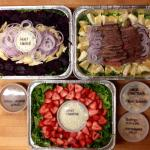 Delicious catered salads!