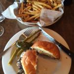 Lamb Burger with Pomme Frites