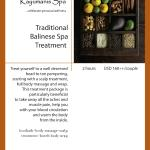 Traditional Balinese Spa Treatment
