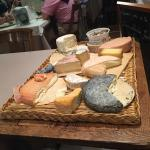 Excellent cheese course