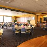 Dine in our Spacious Bistro